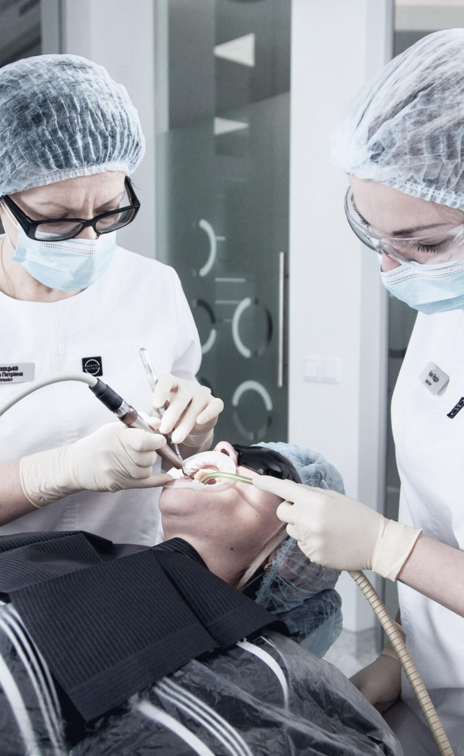 Комплексна гігієна порожнини рота (вдвавізити)